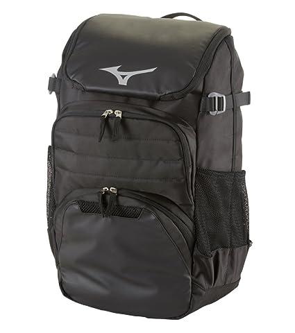 e7df5b8023 Amazon.com : Mizuno Organizer OG5 Backpack, Black : Sports & Outdoors