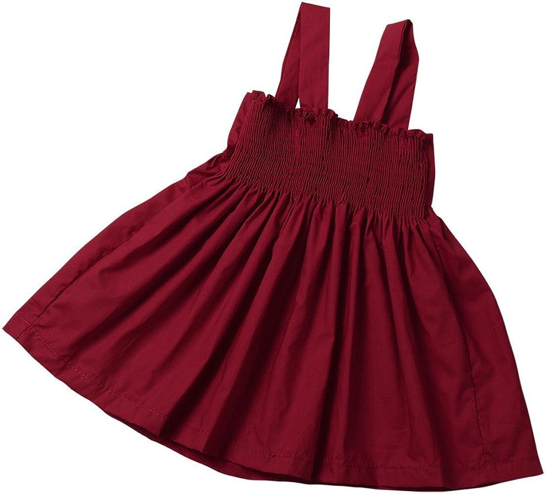 Lazzboy Vestido de Arco de algodón para niña bebé arnés Vestido de ...
