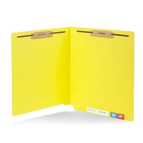 Amazon.com: 50 carpetas de archivador de pestañas finales ...