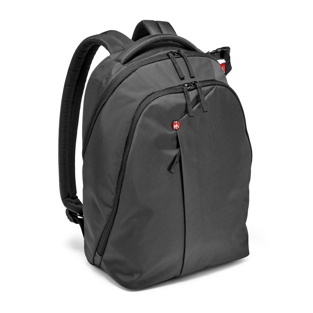 Manfrotto MB NX-BP-VGY Backpack for DSLR Camera, Laptop & Personal Gear (Grey) by Manfrotto