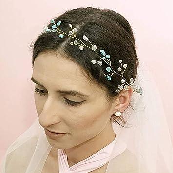 Amazon Com Aukmla Wedding Hair Accessories Rhinestones