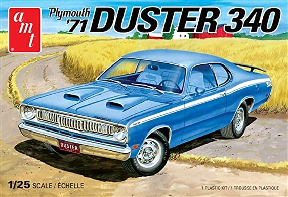 Cartoon VINTAGE AD Comic Strip 1969 PLYMOUTH DUSTER Car Here Comes Duster