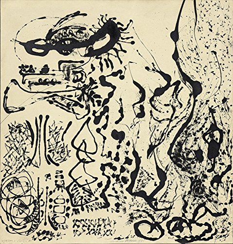 Berkin Arts Jackson Pollock Giclee Canvas Print Paintings for sale  Delivered anywhere in Canada