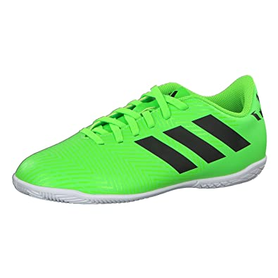 the best attitude 268bb 9d406 Adidas Boy s Nemeziz Messi Tango 18.4 in J Cblack Sgreen Football Shoes-5  UK 38 Euro (Db2399-5)  Buy Online at Low Prices in India - Amazon.in