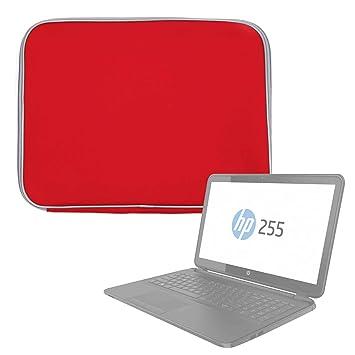 DURAGADGET Funda De Neopreno Roja para Portátil HP Notebook 15-bw068ns: Amazon.es: Electrónica