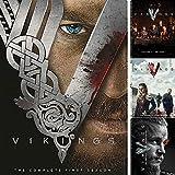 Vikings Season 1 - 4 Complete Series