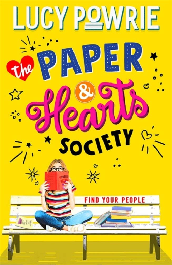 The Paper and Hearts Society by Lucy Powrie