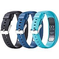 Meiruo Bracelet de Remplacement pour Garmin Vivofit 4, Strap Bracelet pour Garmin Vivofit 4