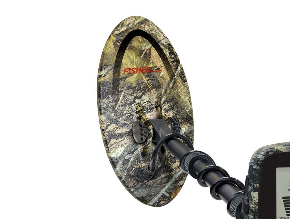 Amazon.com : Fisher F19 Limited Edition Green Camo Metal Detector with 10.5