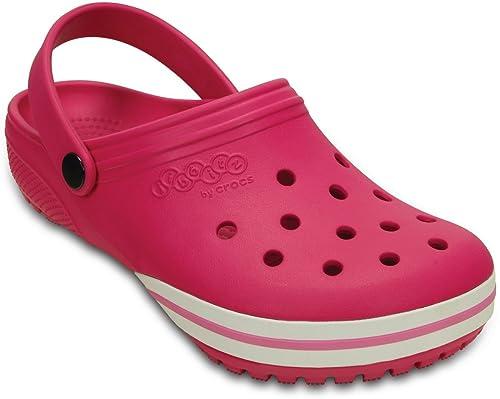 6a04f0d9493c crocs Unisex Jibbitz byilby Candy Pink Clogs -M9W11 (202965-6X0 ...