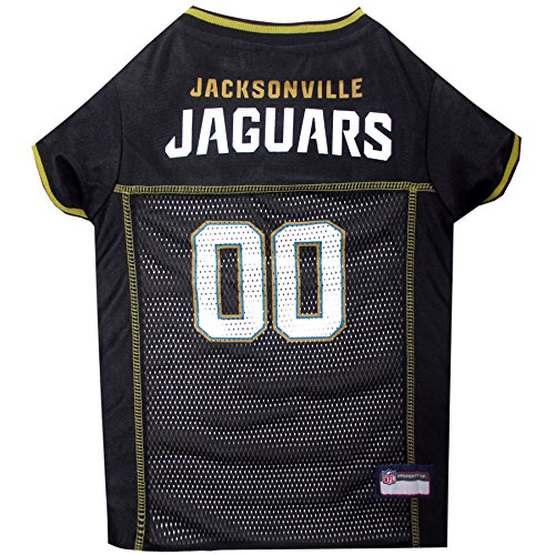 (Pets First NFL Jacksonville Jaguars Jersey, Small)