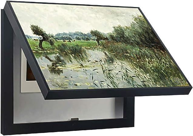 LITING Caja de medidor eléctrico Cuadro de distribución de Pintura Decorativa Caja Decorativa Caja Abierta vacía Caja eléctrica Caja Fuerte Caja de Multimedia Cuadro de Pintura: Amazon.es: Hogar