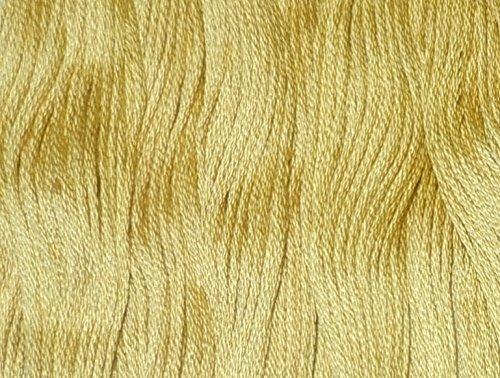 DMC 117-834 6 Strand Embroidery Cotton Floss, Light Golden Olive, 8.7-Yard