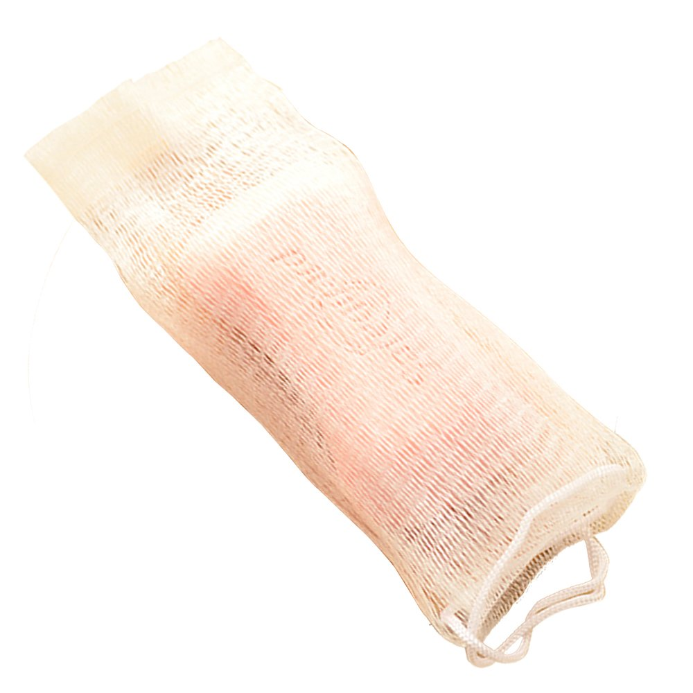 Nicole 5pcs Bubble Net for Handmade Soap Double Layer Hanging Elastic Foaming Cleaning Mesh Bag SN-00