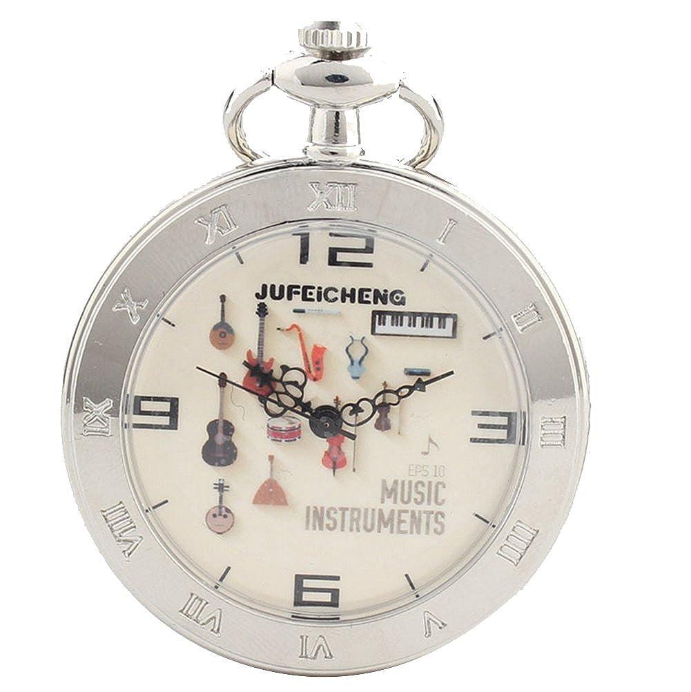 lekima reloj de bolsillo Gousset guitarra música árabe número ...