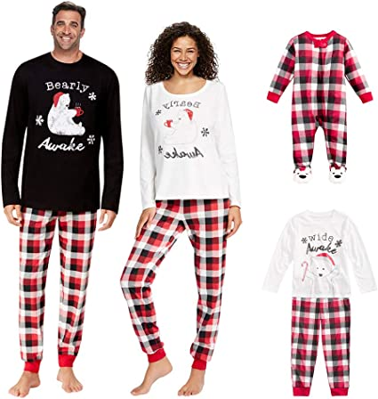 Turkey Christmas Pijamas De Navidad Familia Conjunto Mujer Hombre Ni/ños Camisetas De Manga Larga Sudadera Ch/ándal Familia Conjunto Pantalon y Top Pijamas Mujer Hombre Invierno Manga Larga Pijama