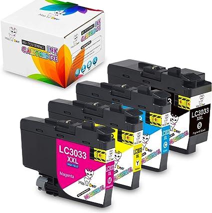 Amazon.com: LC3033 XXL - Juego de cartuchos de tinta para ...