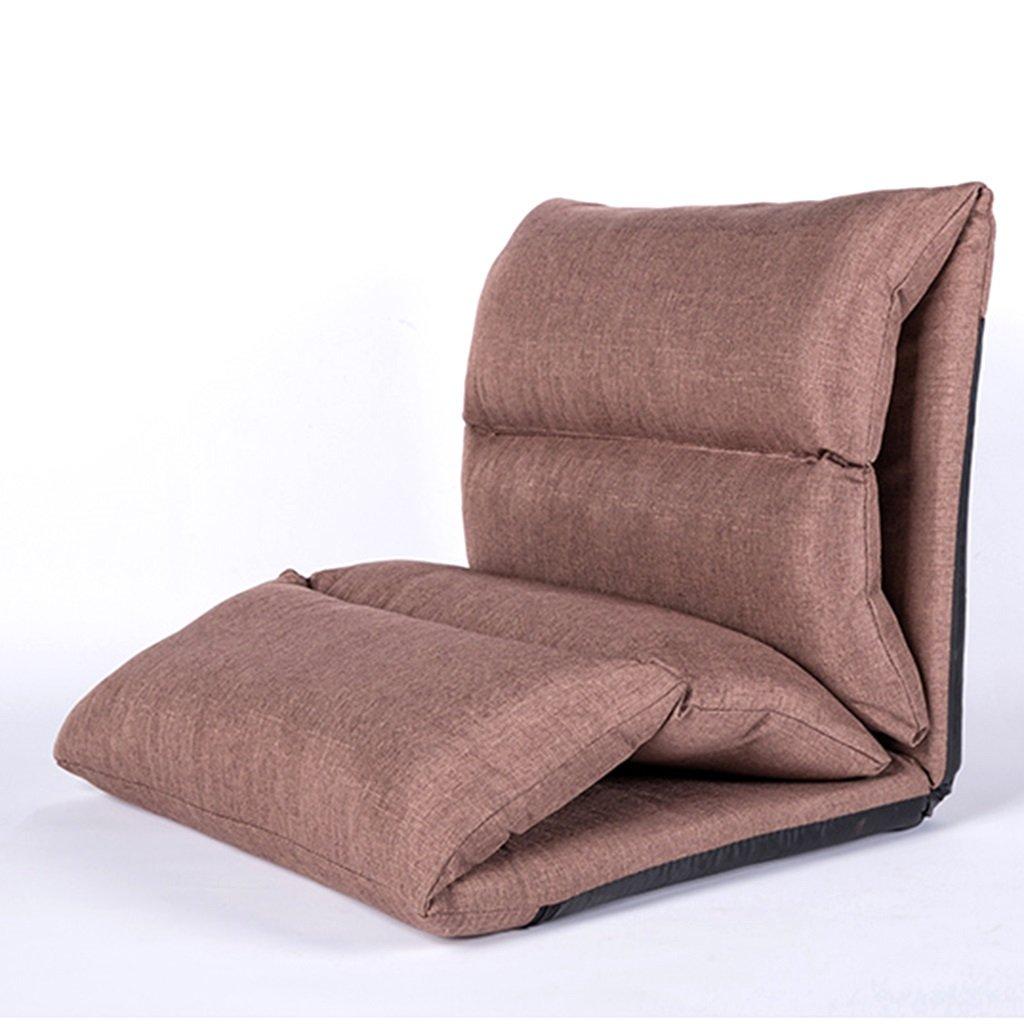 Unbekannt Bodenstuhl Faltende Tragbare Faule Sofa-Stühle Für Schlafzimmer-Klassenzimmer, Für Die Meditation, Die Fernsehen-Aufpassen Oder Spiel Liest