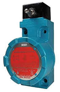 Honeywell - LSXA4K - Explosion Proof Limit Switch, 600VAC/250VDC Voltage Rating, 10 Amps, Side Actuator Location