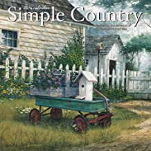 Simple Country 2016 Mini 7x7 Wall Calendar