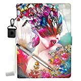 Lovewlb Tablet Case for Polaroid A900x 9-Inch Case Stand Leather Cover HD