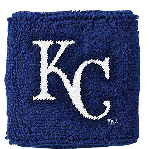 Franklin Sports MLB Kansas City Royals Team Wristbands