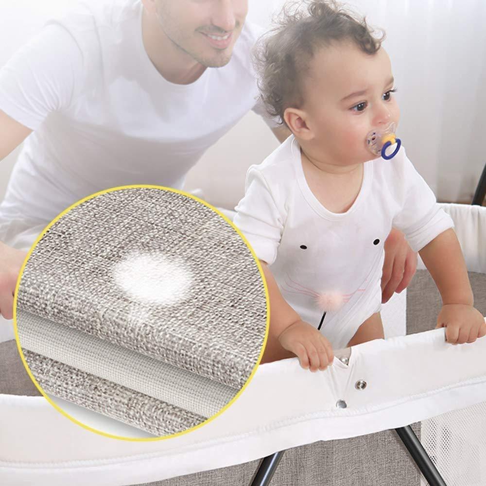 HOMESROP Soporte eléctrico Hamaca mecedora for niños, cuna cuna ...