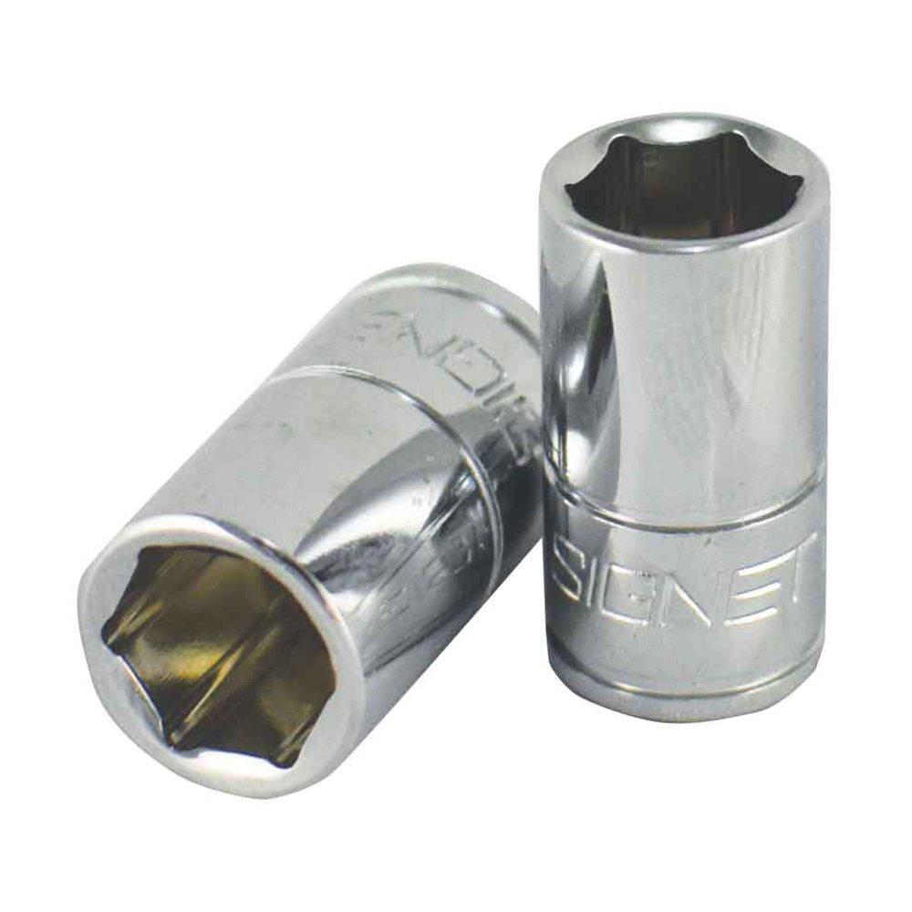 Signet S11308 1/4 Drive 6 Point Standard Metric Socket, 8 mm