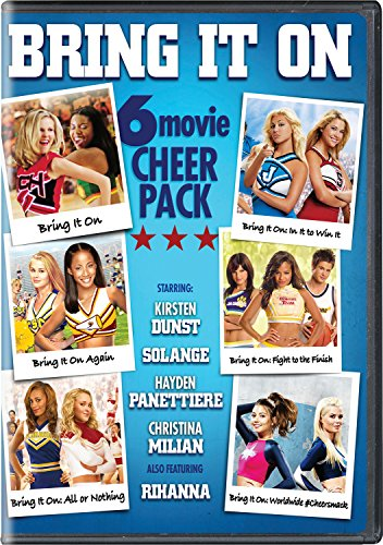 Bring It On: 6-Movie Cheer Pack (Six Pack Movie Dvd)