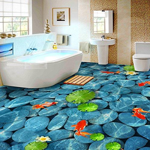 Lwcx Pvc Selbstklebend Wasserdichte Boden 3d Wallpaper Aufkleber