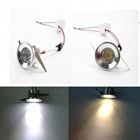 Comidox Opening 28mm Silver Mini Led Spotlights Embedded