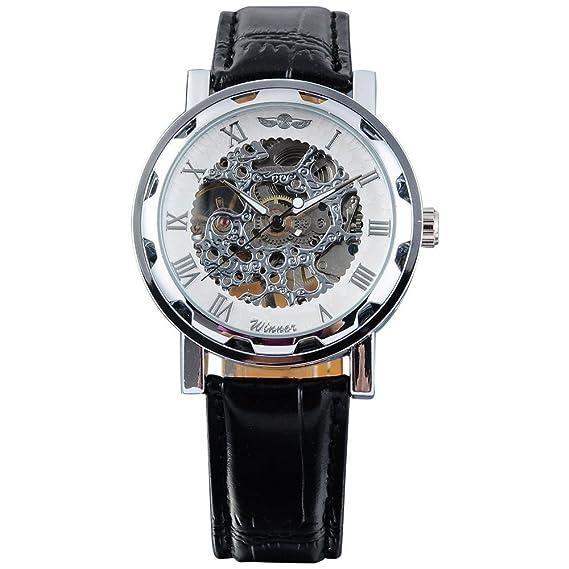 Winner PMW027 – Reloj de pulsera de hombre color negro