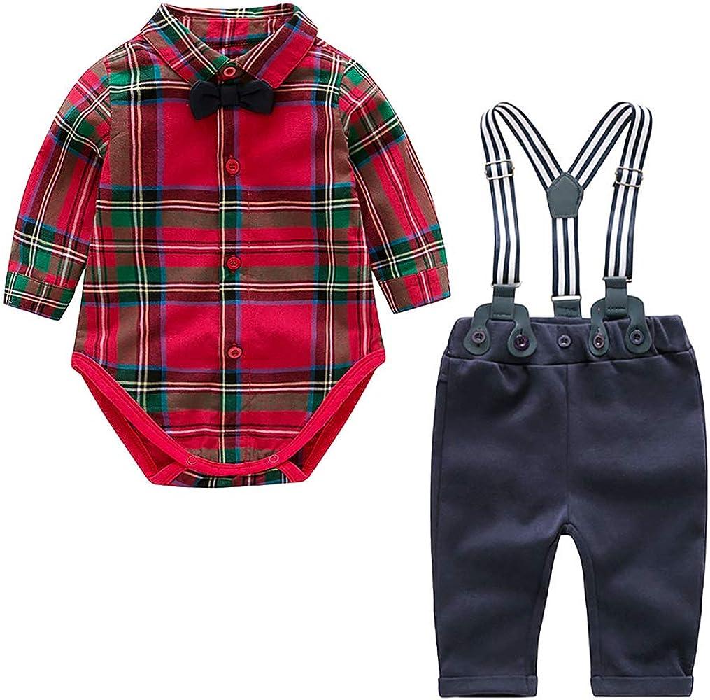 Nwada Conjunto Bebe Nino Vestido Americana Ropa de Pascua para ...