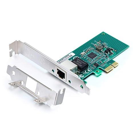 1G Gigabit Ethernet Converged Network Adapter (NIC),Compatible Intel I210  Single RJ45 Port, PCI Express 2 1 X1, NIC Card for Desktop PC