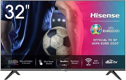 Hisense HD TV 2020 32AE5500F - Smart TV Resolución HD, Natural Color Enhancer, Dolby Audio, Vidaa U 2.5, HDMI, USB, Salida auriculares: Amazon.es: Electrónica