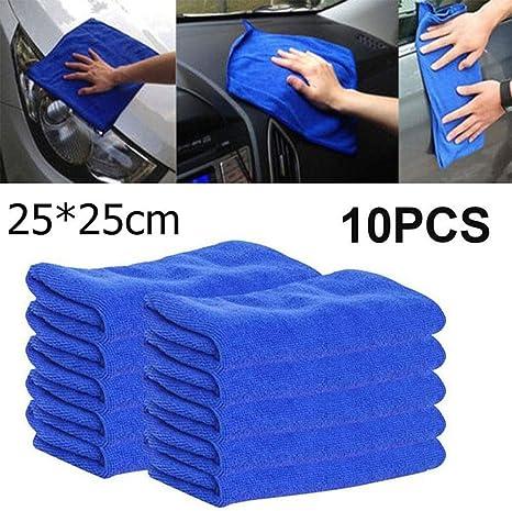 20PCS LARGE MICROFIBER CLEANING CAR DETAILING SOFT DUSTER CLOTHS AUTO WASH TOWEL