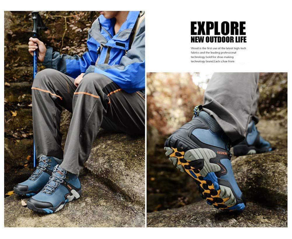 Herren Herren Herren Wanderschuhe Wasserdicht Schneestiefel Outdoor Stiefel Trekking Hiking Fur Gefüttert Schuhe a98085
