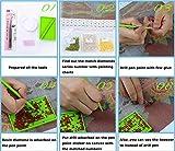 "Yumeart Full Drill Diamond Painting By Number Fish Rhinestones Diamond Embroidery Kits 30x30cm(12x12"")"