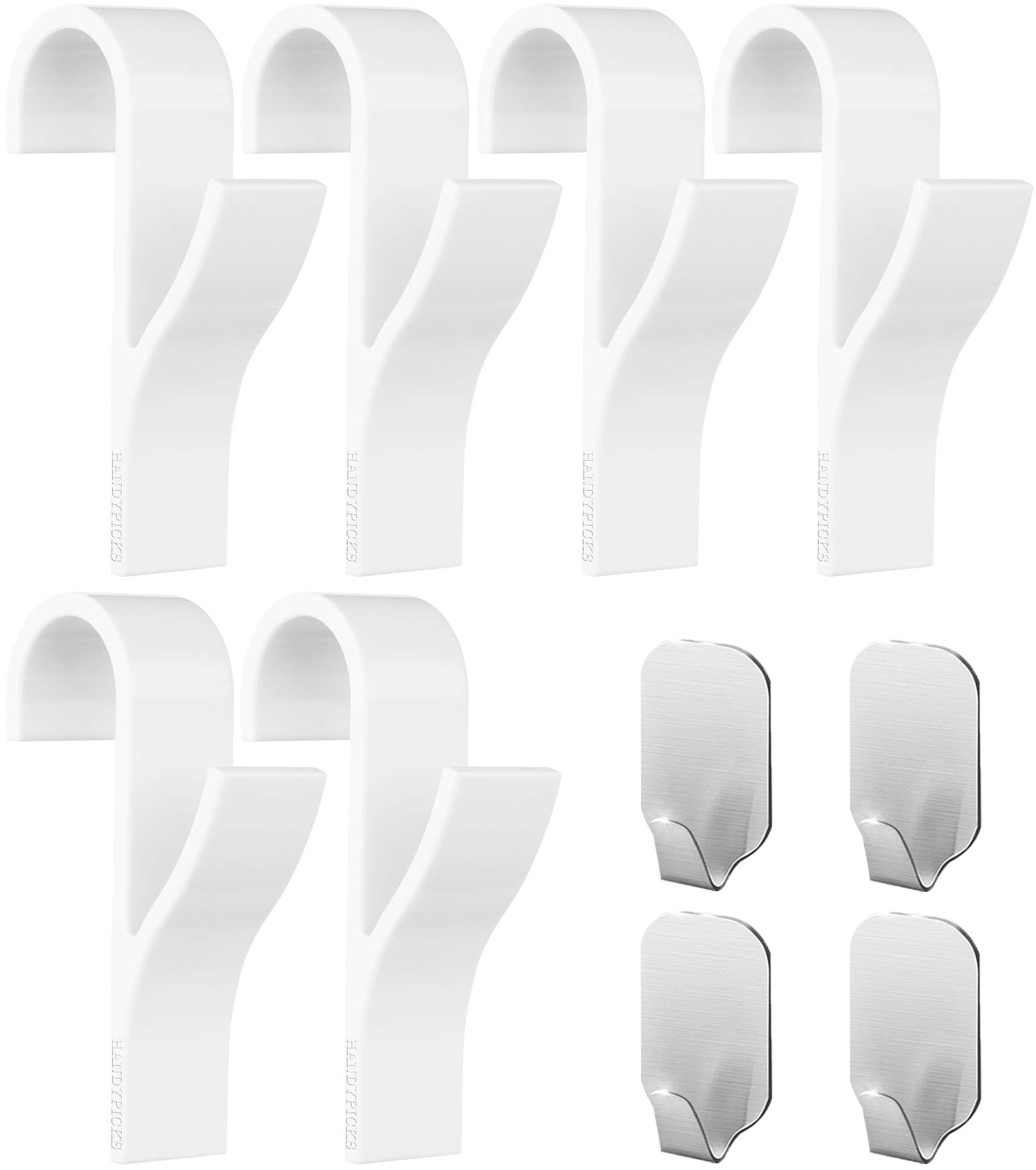 Appendini per termoarredo (10 pezzi) - 6 pezzi di Appendini per termoarredo  (Bianco 4fe9e6aa90d