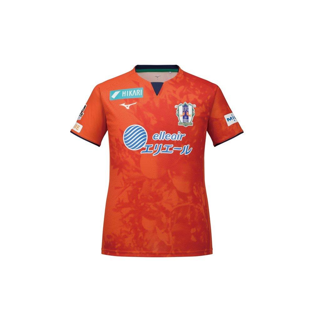 ミズノ(ミズノ) 愛媛FC 2018 ホーム オーセンティック ユニフォーム P2JA8Y0101 B07CBJ5H4F SS|オレンジ オレンジ SS