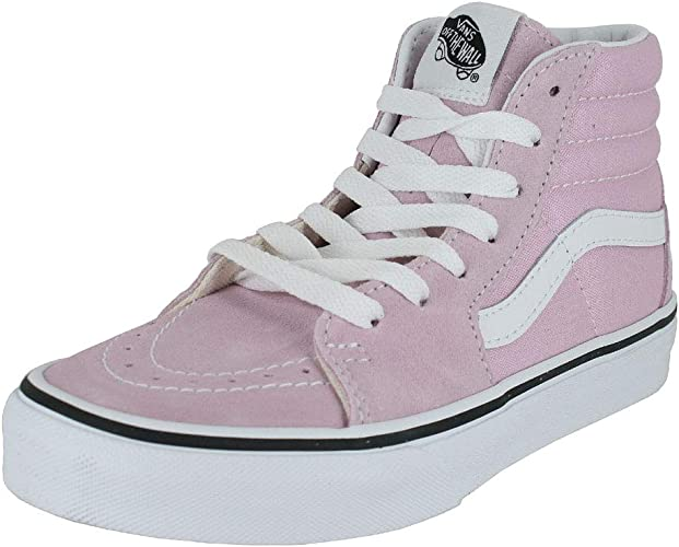 Vans Kids K SK8 HI Lilac Snow True White Size 5.5: