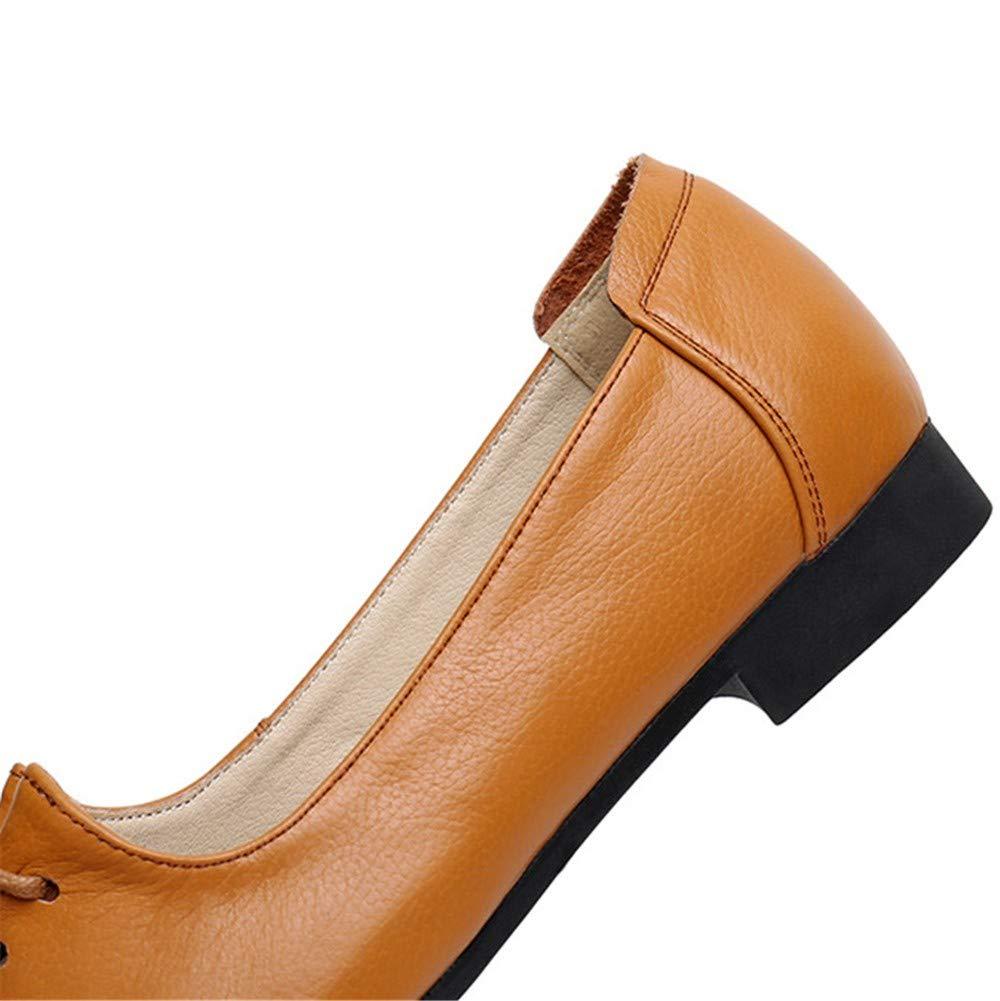 Bequeme Flacher Leders Einzelne Schuh Flyrcx Des Flache Beschuht ARL354j