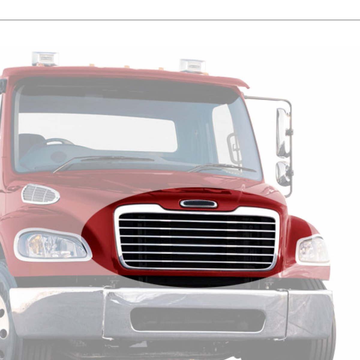 2015 Freightliner M2 Amu Location Wiring Diagram Amazoncom Grand General 89305 Chrome Plastic Grille With Black Steel Bug Screen For 2008 Business