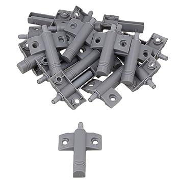 BQLZR Cabinet Door Drawer Soft Closer Damper ABS Mute Buffers Pack Of 20