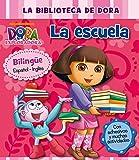 Mi Primera Biblioteca. La Escuela: Bilingüe español-inglés (incluye adhesivos) (La biblioteca de Dora la exploradora)