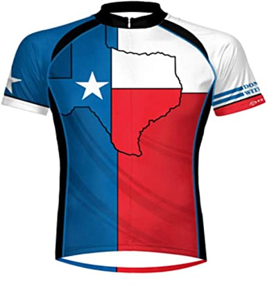 Primal Texas Cycling Jersey Wear - Camiseta de manga corta para hombre