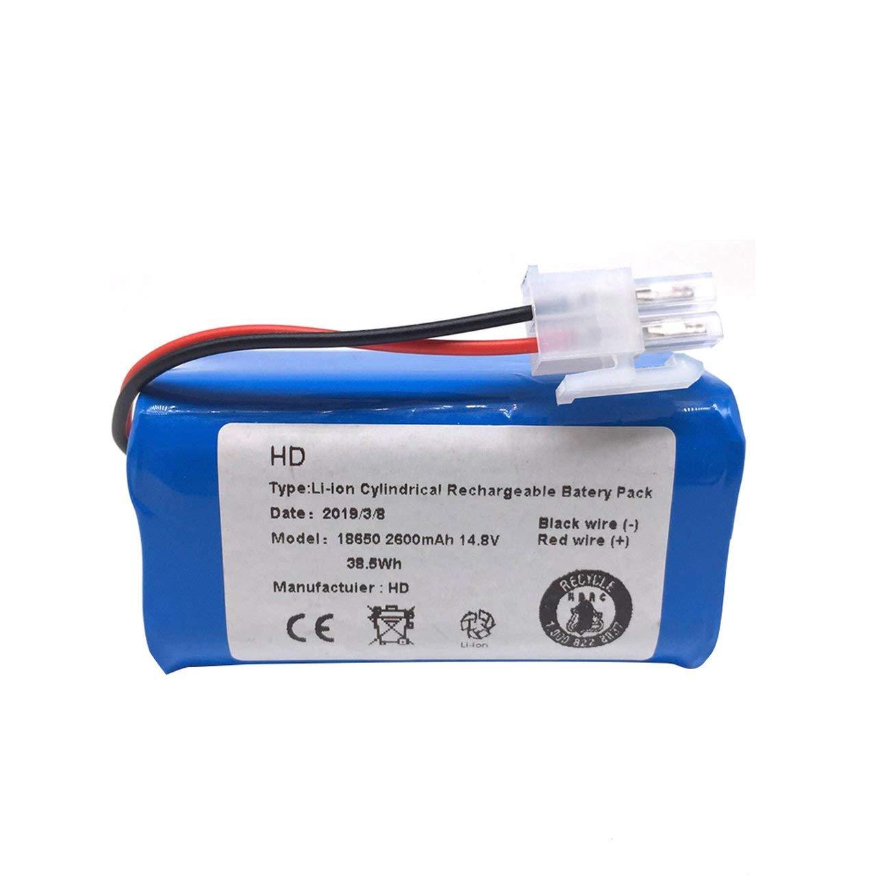 Azul WOSOSYEYO Bater/ía Original para ilife V7s A6 V7s Pro X620 Piezas del Aspirador Aspirador de Mortor