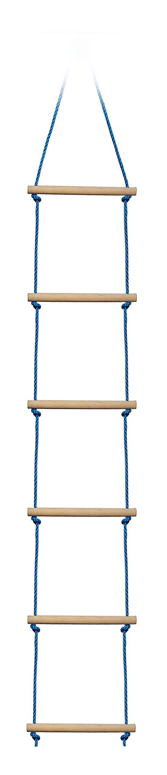 Slackers NinjaLine Rope Ladder, Blue, 8' by Slackers (Image #2)