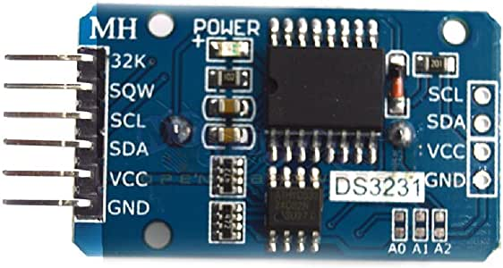 BanKhok Holdding DS3231 AT24C32 IIC Module Precision Real Time Clock Memory Module with a Temperature-Compensated Crystal Oscillator For Arduino