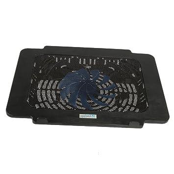 Ventilador de enfriamiento del Cojín Fresco del Sostenedor del Soporte del Radiador USB Cable de Ordenador Portátil PC Portátil Negro: Amazon.es: ...
